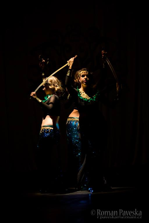 Vystoupení orientálního tance