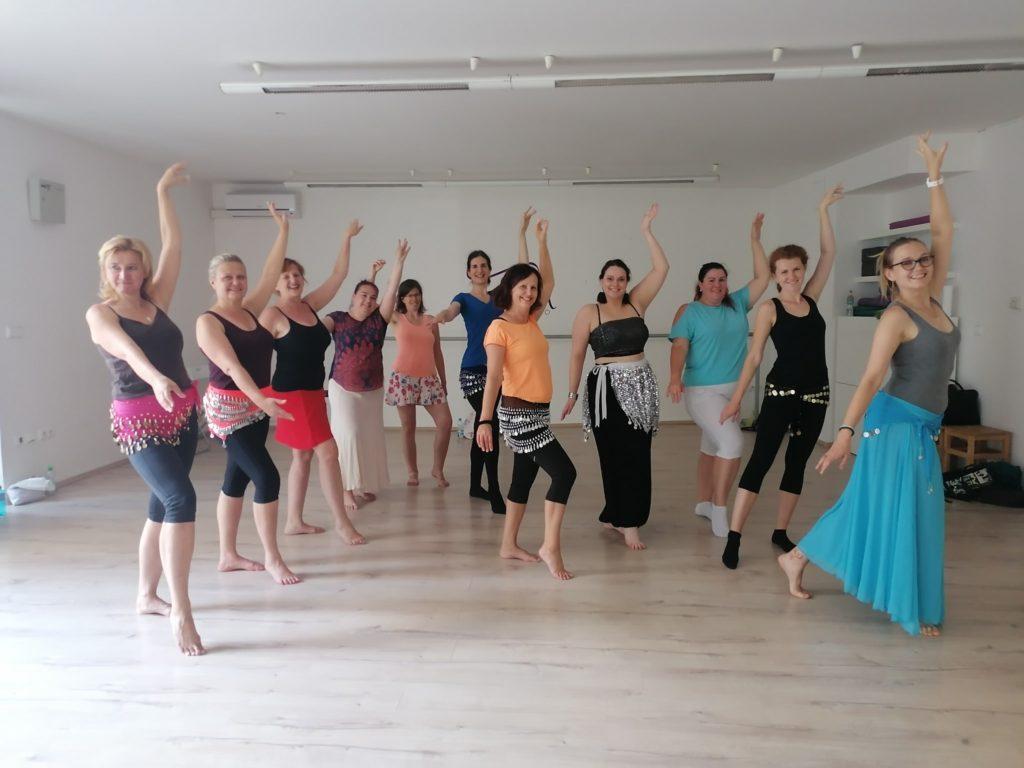 Kurzy orientálního tance Brno
